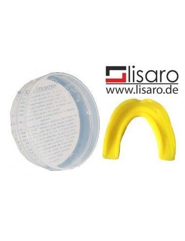 Zahnschutz / Mundschutz mit Box gelb/ LISARO - Kopie - 1