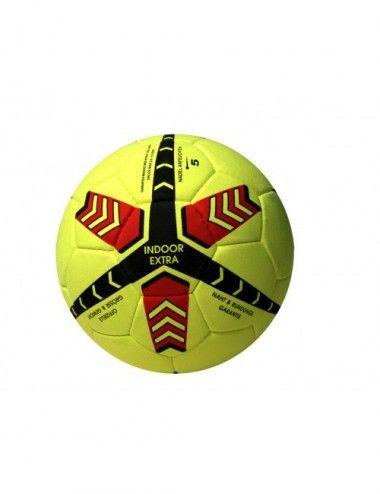 Indoor-Fussball / Indoorball aus Echt valourleder - 1