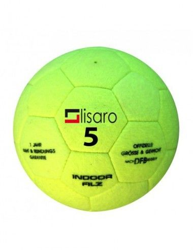 LISARO Hallenfußball ist der klassische Indoor-Fußball mit Filz für Schulen und Vereine Gr. 5 - 1