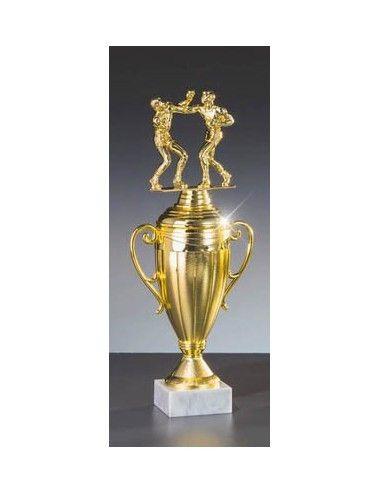 Box_Pokal mit Schraubfigur 374mm Höhe - 1