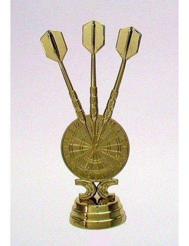 Darts Schraubfiguren 121 mm Höhe gold - 1