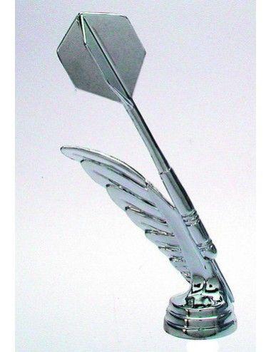 Darts Schraubfiguren 146 mm Höhe silber - 1