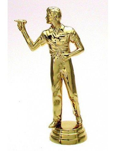 Darts Schraubfiguren Herren 129 mm Höhe gold - 1