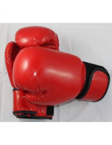 Kinder Boxhandschuhe Reflekt Material, 8 oz, Farbe rot - 1