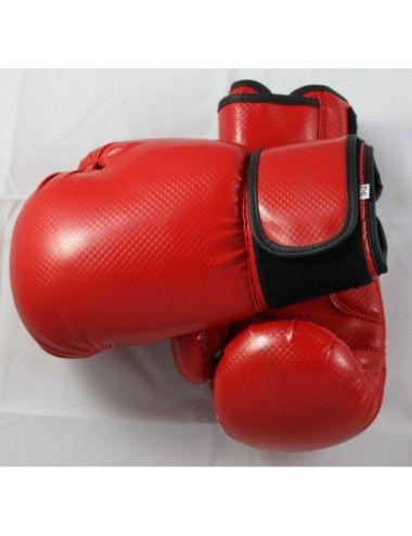Kinder Boxhandschuhe Reflekt Material, 8 oz, Farbe rot - 3