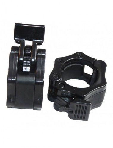 Hantel Schnellverschlüsse, 50mm,Hantelverschluss aus Plastik, Klappverschluss für Hantelstangen, Barbell Collar, Olympic Hantel