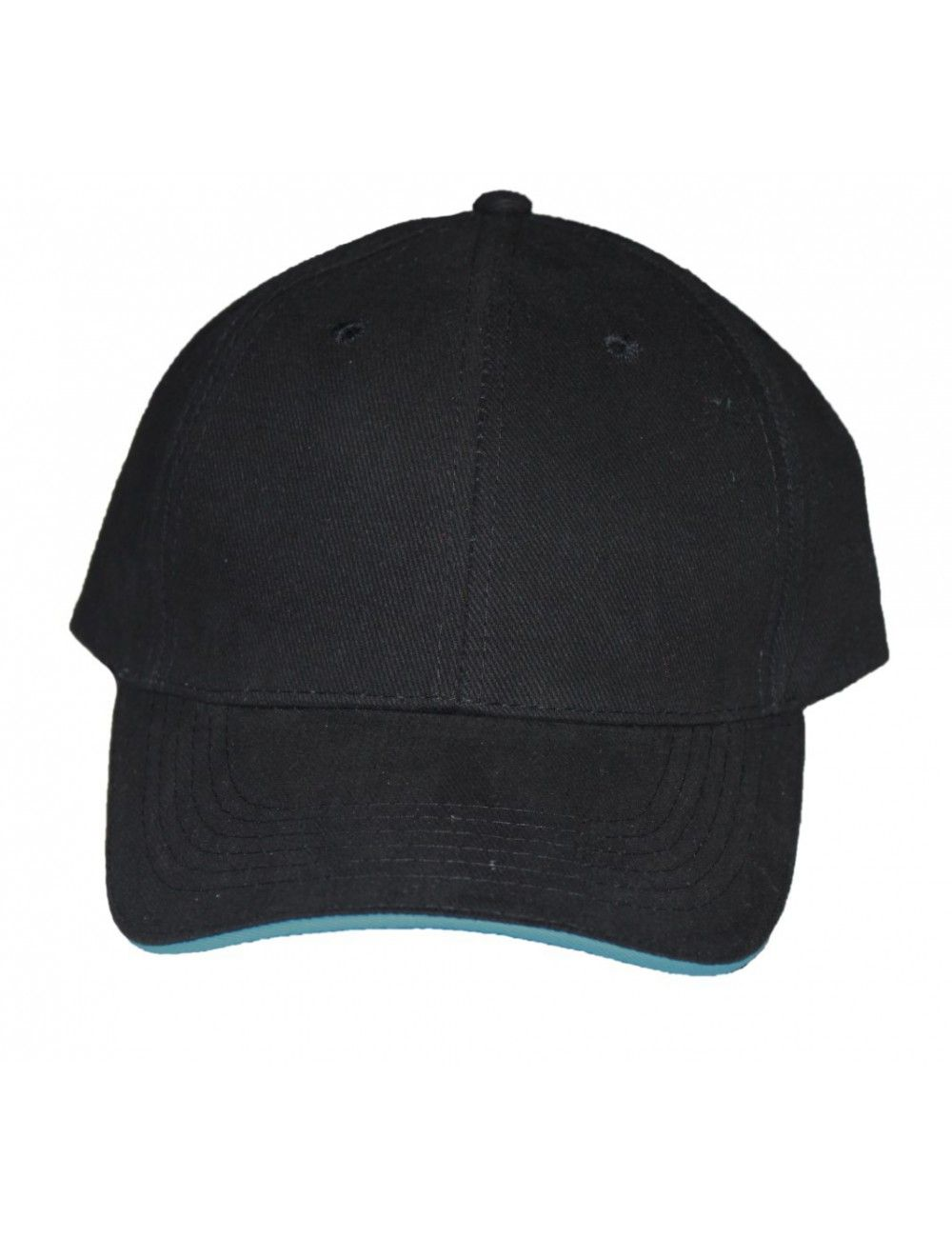 Lisaro Cap mit Ihrem Firmen- oder Vereinslogo  oder Ohne Druck schwarz - Kopie - 1