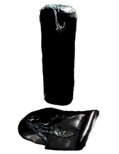 BOXSACK /Sandsack schwarz 150 X 35cm Leer / UNGEFÜLLT - 1