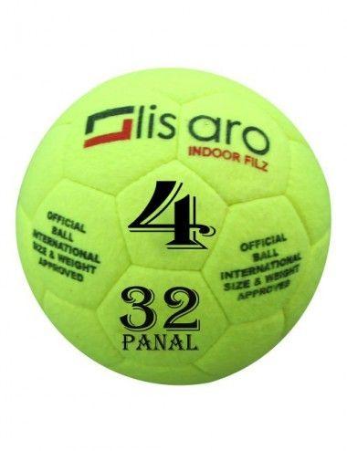 Indoor / Hallenfußball ist der klassische Indoor-Fußball mit Filz für Schulen und Vereine Gr. 4 - 1