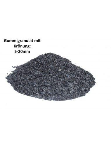 Boxsackfüllung Gummigranulat | 25kg Schwarz – Füllungsmaterial Made IN Germany | Dummy-Füllung – Maisbirne-Füllung / Grob - 2