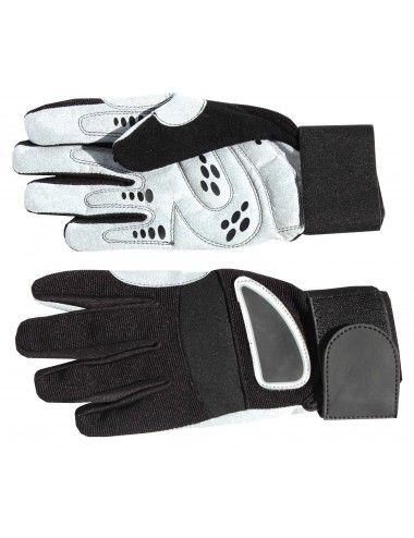 Vollfinger Profi Fitness Handschuhe/Trainingshandschuhe- Fitness Handschuhe Herren und Damen, Gewichtheber Handschuhe - 3
