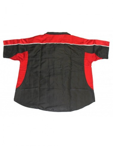 Darthemd schwarz-rot / Dart-Trikot / Dartsshirt - 3