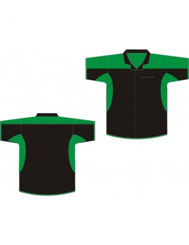 Dart-Hemd schwarz/grün - 1