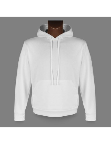 Basic Kapuzen-Sweatshirt Hoody, Farbe White - 1