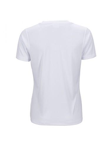 Ladies Active T-Shirt, V-Neck, Farbe White - 1