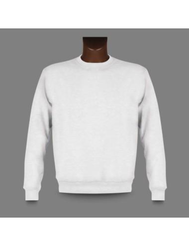 Basic Sweatshirt, Farbe White - 1