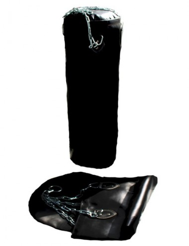 Box-/Sandsack schwarz 120 X 35cm leer - 1