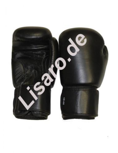 Box-Handschuhe aus Leder schwarz - 1