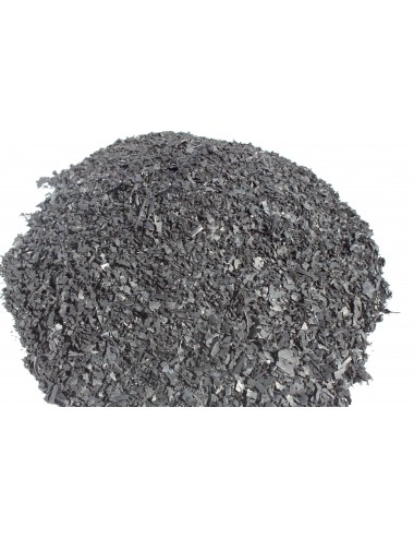 Boxsackfüllung Gummigranulat | 25kg Schwarz – Füllungsmaterial Made IN Germany | Dummy-Füllung – Maisbirne-Füllung / Fein - 4