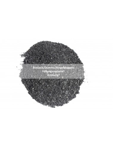Boxsackfüllung Gummigranulat | 25kg Schwarz – Füllungsmaterial Made IN Germany | Dummy-Füllung – Maisbirne-Füllung - 4