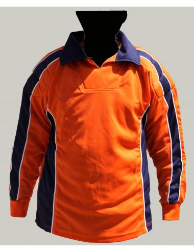 Torwart-Trikot orange/schwarz - 1