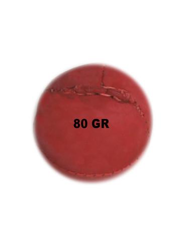 Wurfball Leder 80 gr Rot....