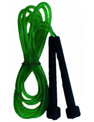Springseil aus PVC grün - 1