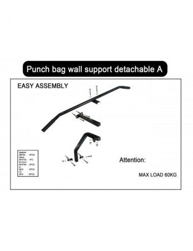 Wandhalterung für Boxsack und Klimmzugstange (Modell:A) - 1
