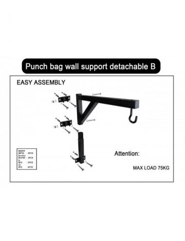 Wandhalterung für Boxsack und Klimmzugstange Modell: B - 1