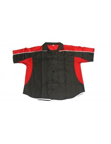 Darthemd schwarz-rot / Dart-Trikot / Dartsshirt - 2