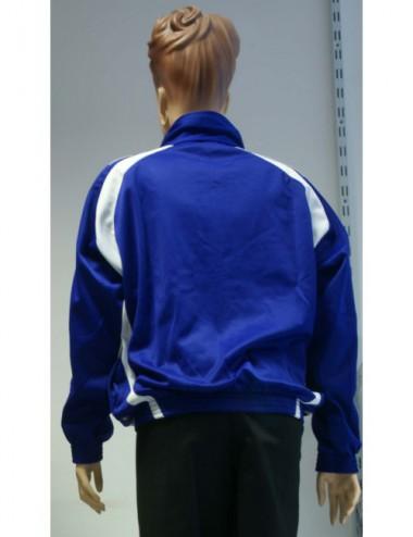 Lisaro Trainingsanzug aus Polyester blau/schwarz/weiß - 1