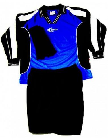 Trikotset Cooldry blau/schwarz/weiß - 1