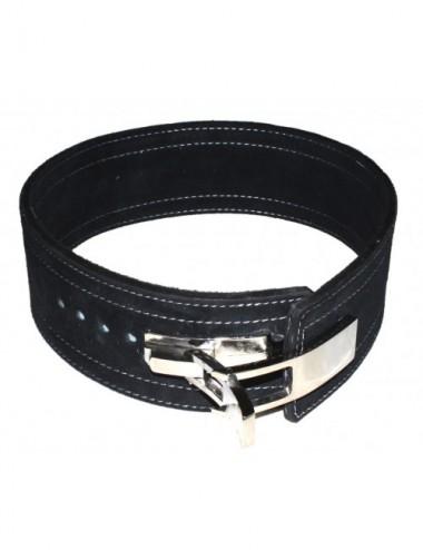 Profi KDK Powergürtel / Lever Belt 10mm aus Leder mit Pressschnalle - 2