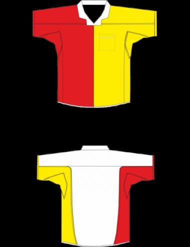 Darthemd rot/weiß/gelb - 1