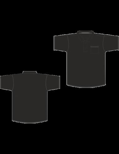 Dart Poloshirt schwarz - 1