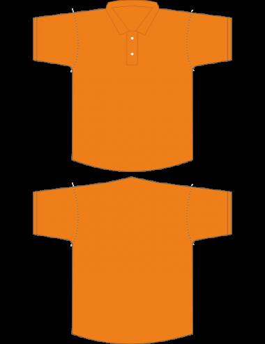 Dart Polohemd orange - 1
