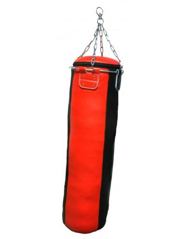 BOXSACK aus  Leder Look Kunstleder mit Metallring 120 X 35 cm, Ca. 35 kg - 1